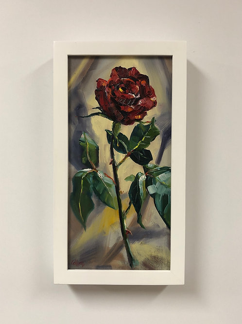 """Colleen Cosgrove """"Radiant Rose"""" Oil Painting"""
