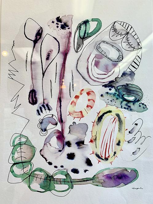 #9 Watercolor by Suyao Tian