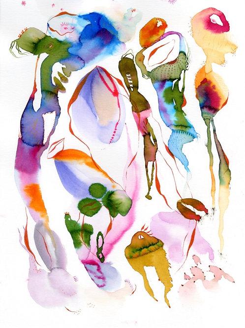 #22 Watercolor by Suyao Tian