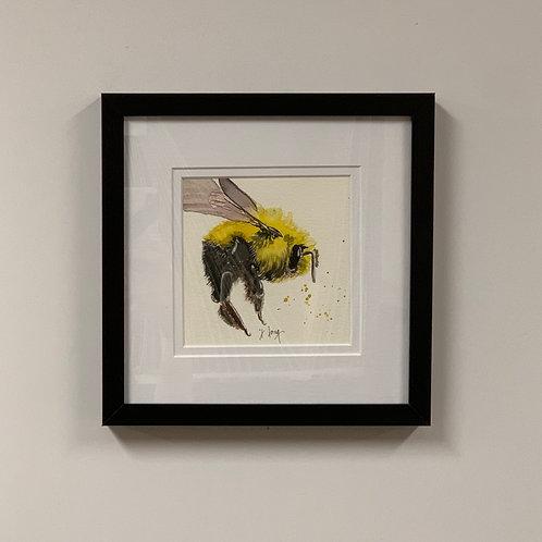 Jeanne Long Watercolor of Bee 3