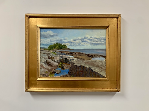 "Jack Dant ""Rocks Of Ages"" Oil On Linen Painting"