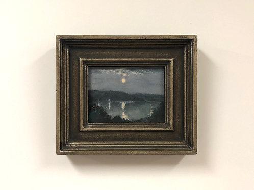 "SOLD Stuart Loughridge ""Moon Over Agassiz"""