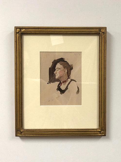 "Stuart Loughridge ""Melody"" Watercolor"