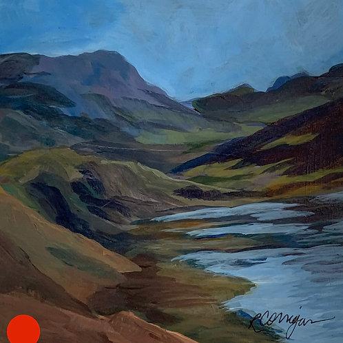 SOLD! Iceland #4 by Rita Beyer Corrigan