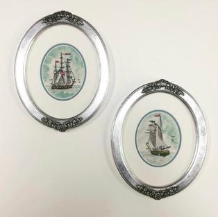 Custom Oval Frames