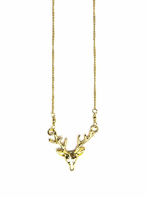 Fair Anita Antlers Necklace