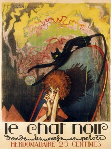 SOLD Le Chat Noir Poster