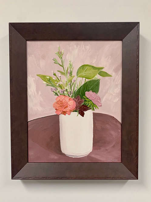 Spring Bouquet Oil Painting by Sam Patnoe