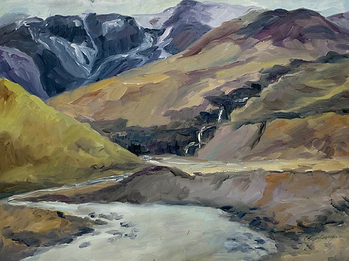 Iceland Waterfalls #2 by Rita Beyer Corrigan