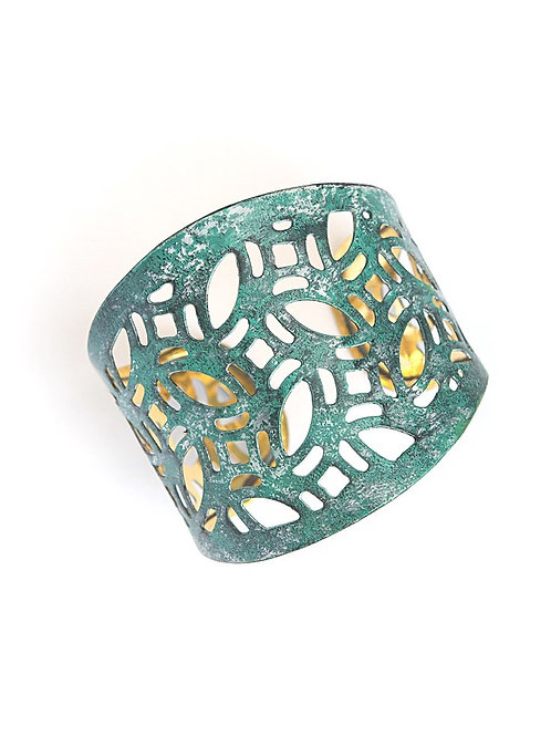 Fair Anita Lace Patina Cuff