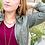 Thumbnail: SOLD Fair Anita Pyramid Pendant Necklace
