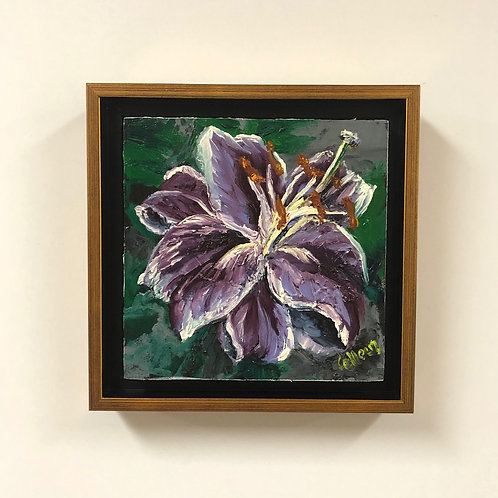 """Colleen Cosgrove """"Lily"""" Oil Painting"""