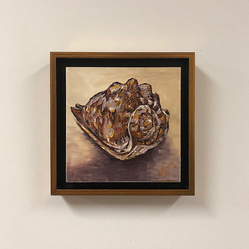 """Colleen Cosgrove """"Seashell"""" Oil Painting"""