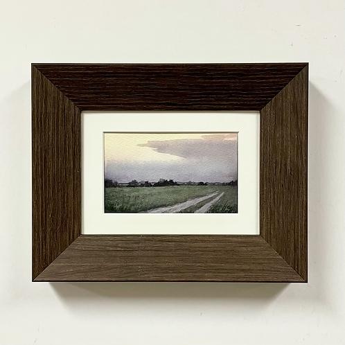 "Hannah C. Heyer ""Along the Way"" Watercolor Painting"