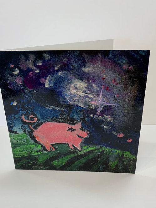 Susan Solomon Starhog Greeting Card