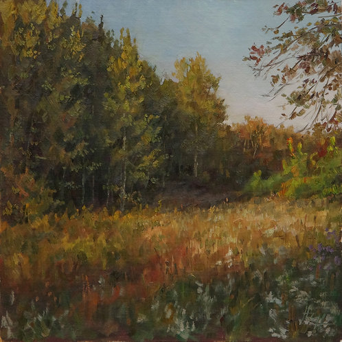 "SOLD ""September Days"" Hannah C. Heyer Oil Painting"