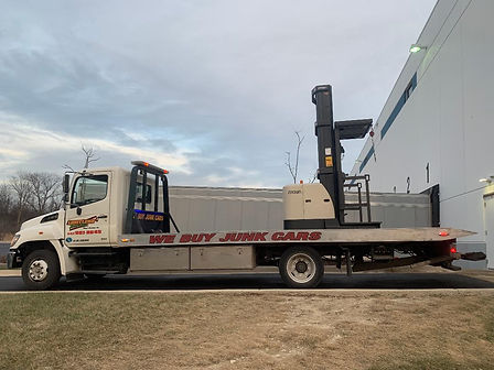 Equipment Towing -Limitless Towing