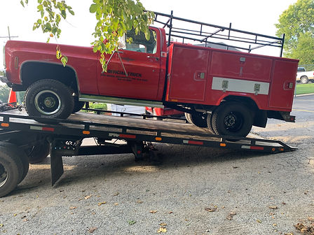 Utility Truck Towing -Limitless Towing