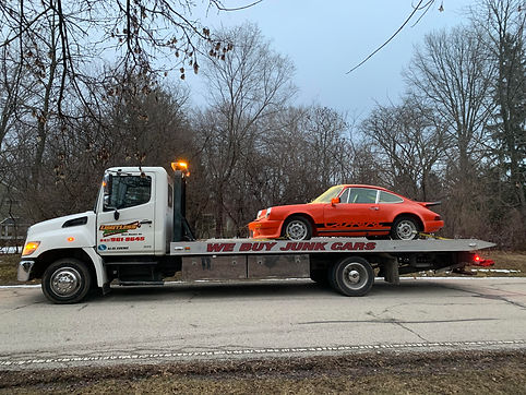 Classic Car Towing -Limitless Towing