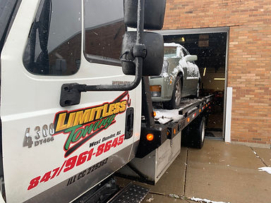 low clearence towing -Limitless Towing