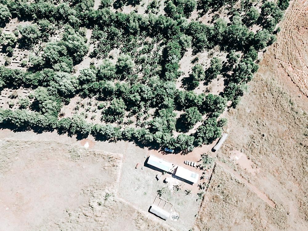 Zebu Estate Aerial Shot