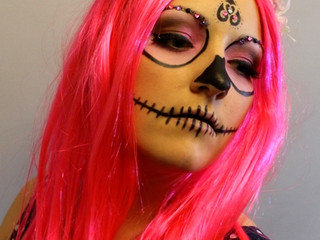 Sugar or Candy Skull Makeup (aka Calavera)