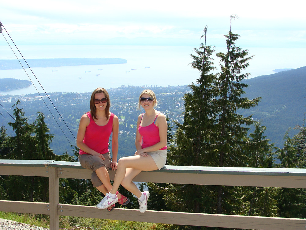 Hiking Grouse Mountain, Vancouver, Canada