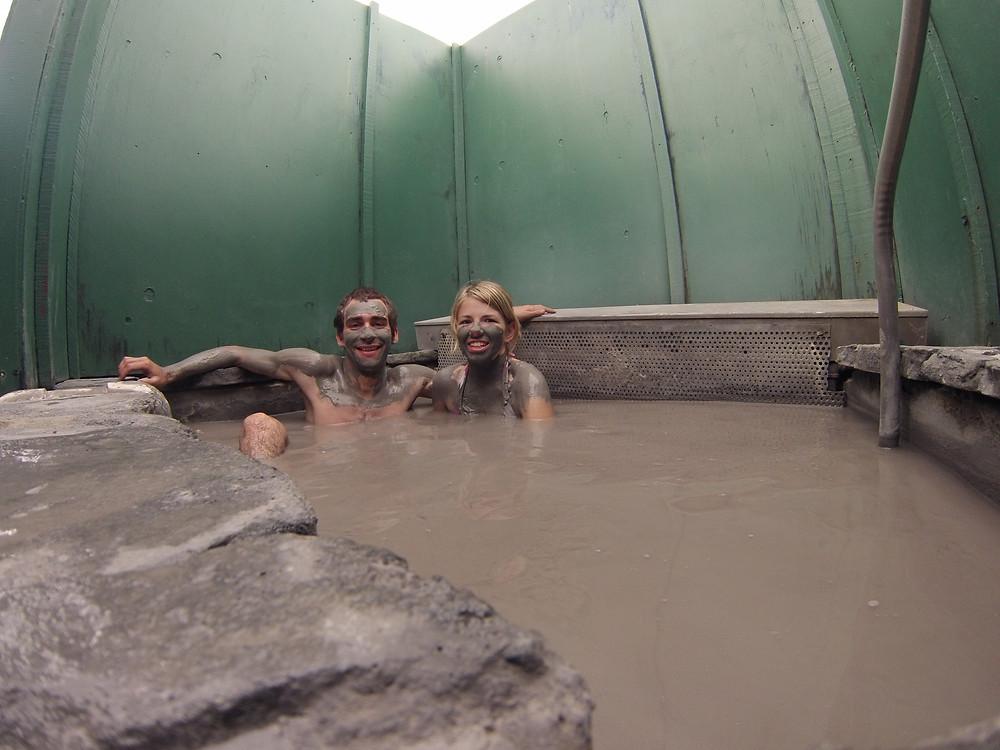 Hells gate private mud pool, Rotorua, New Zealand