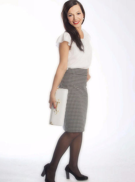 epburn inspired style, outfit and makeup. Photo Shoot