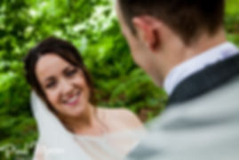 Classic wedding Makeup, false eyelashes, big smile, Bride and groom, Norwich, Norfolk