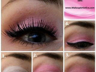 Light Pink Eye Makeup Tutorial