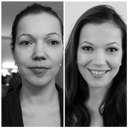 How to do Makeup for a black and white photo shoot. Makeup lessons in Norwich