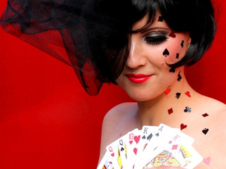 The Queen of Hearts Makeup Look