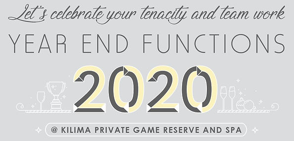Year End Function at Kilima Private Game