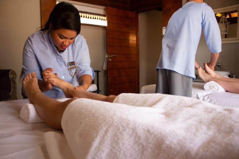 Foot Massage at Kukura Wellness Spa