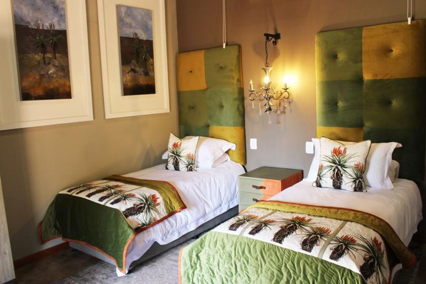 Aloe Family suite 2 x single beds