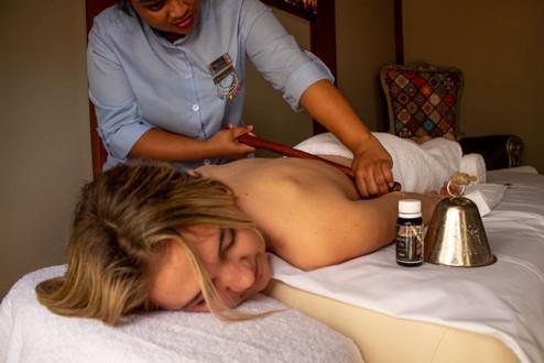 Rungu Massage at Kukura Wellness Spa