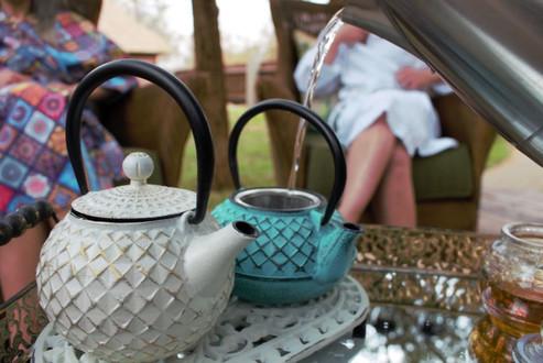 Kukura Wellness Spa tea time