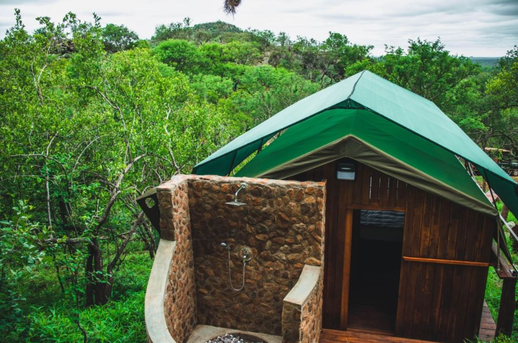 Treetop Tent at Kilima Outside Shower2.J