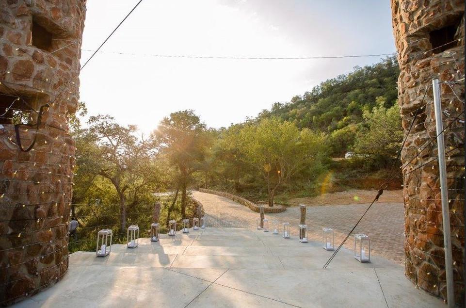 Kilima Star Gazing Deck entrance
