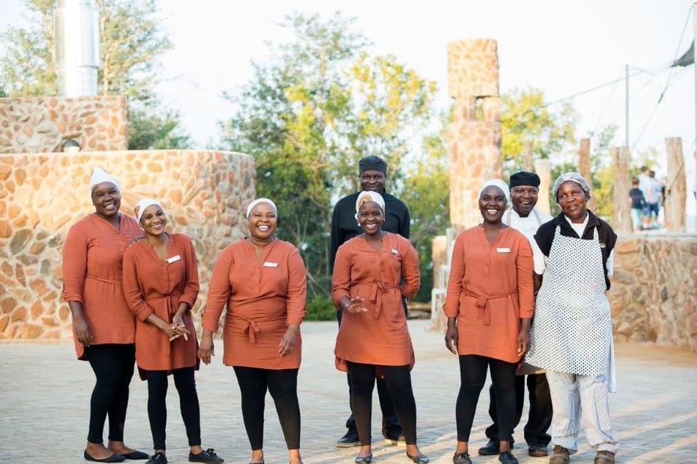 Kilima staff ready to serve