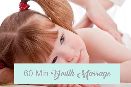 60 Minute Youth Massage