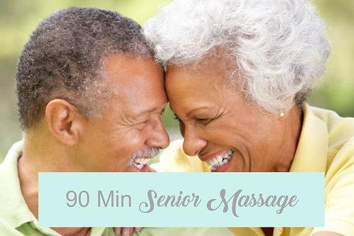 Senior 90 Minute Massage