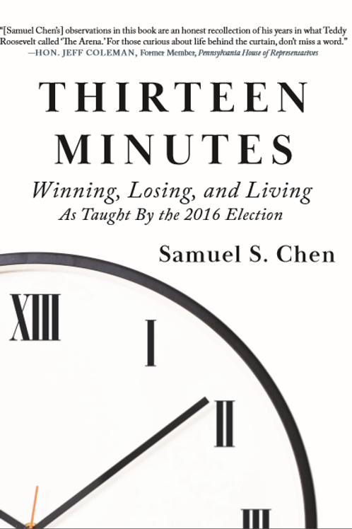 Thirteen Minutes Book