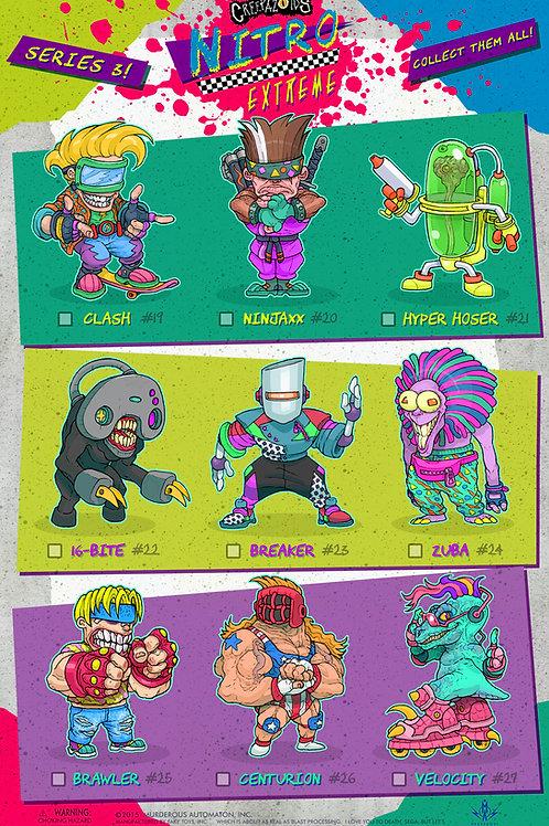 Creepazoids: Nitro Extreme (Poster)