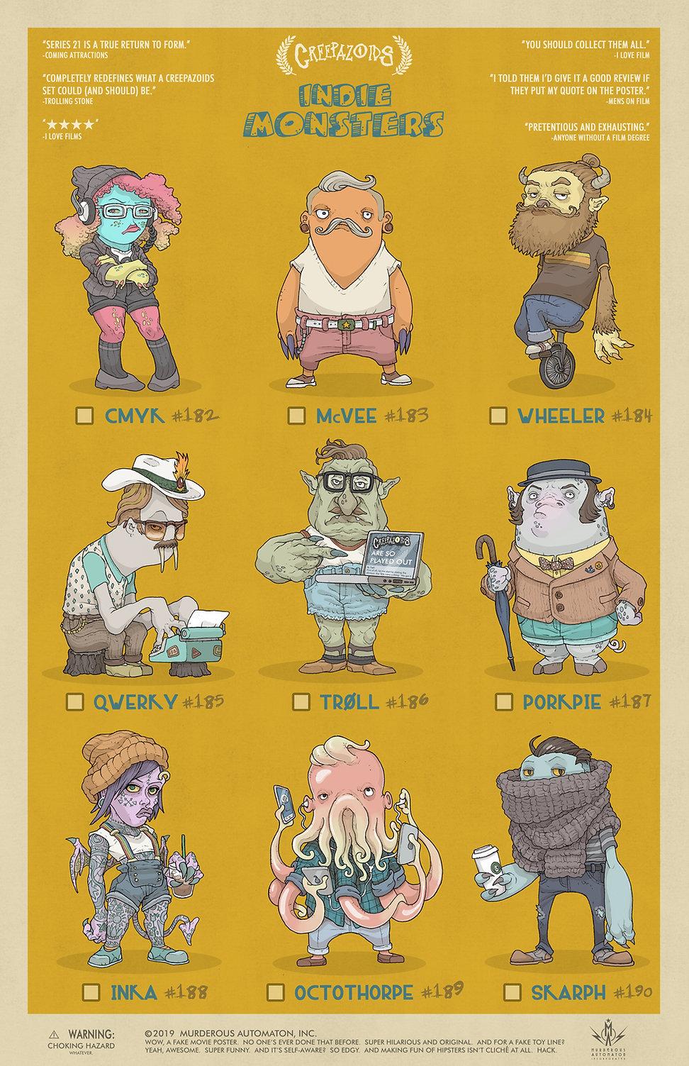 21 Creepazoids--Indie Monsters.jpg