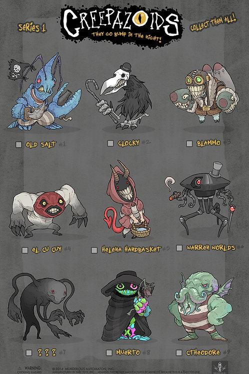 Creepazoids: Series 1 (Poster)