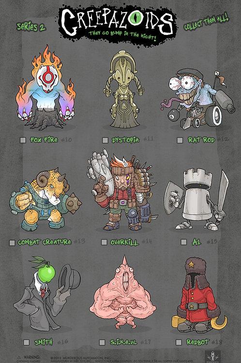 Creepazoids: Series 2 (Poster)