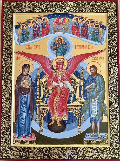 Icon of Sofia - The Wisdom of God