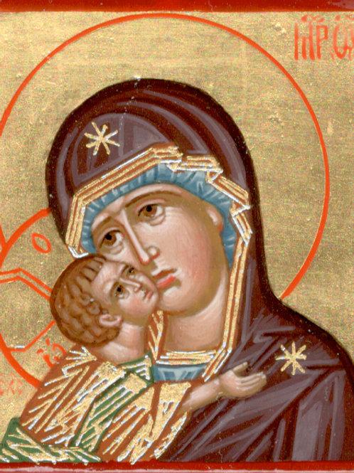 Mini icono Madre de Dios de la ternura